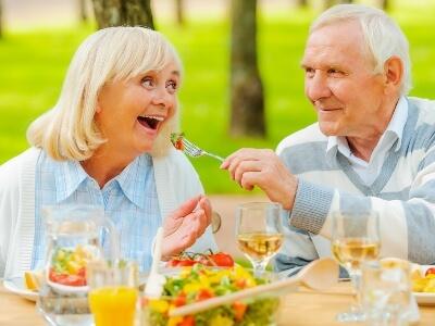 Alimentos para los mayores en verano